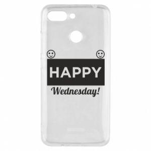 Etui na Xiaomi Redmi 6 Happy Wednesday