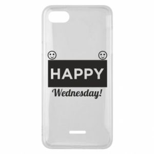 Etui na Xiaomi Redmi 6A Happy Wednesday