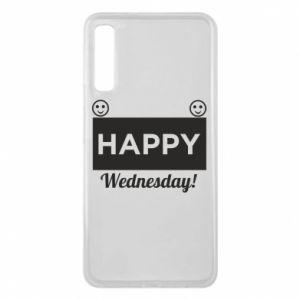 Etui na Samsung A7 2018 Happy Wednesday