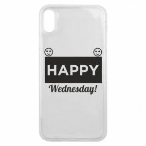 Etui na iPhone Xs Max Happy Wednesday