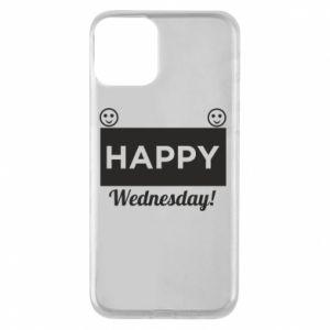 Etui na iPhone 11 Happy Wednesday