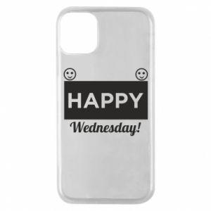 Etui na iPhone 11 Pro Happy Wednesday