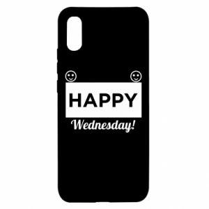 Etui na Xiaomi Redmi 9a Happy Wednesday
