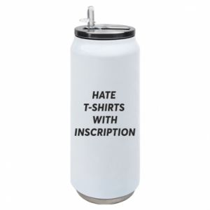 Puszka termiczna HATE  T-SHIRTS  WITH INSCRIPTION