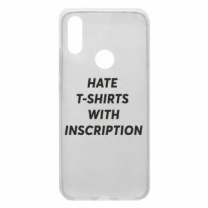 Etui na Xiaomi Redmi 7 HATE  T-SHIRTS  WITH INSCRIPTION
