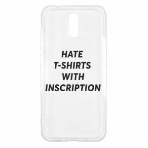 Etui na Nokia 2.3 HATE  T-SHIRTS  WITH INSCRIPTION