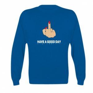 Bluza dziecięca Have a good day