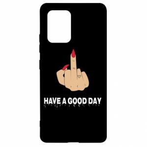 Etui na Samsung S10 Lite Have a good day