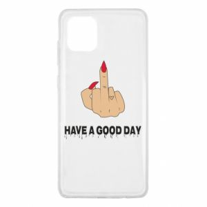 Etui na Samsung Note 10 Lite Have a good day