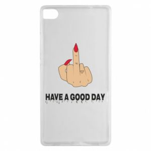 Etui na Huawei P8 Have a good day