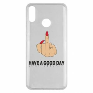 Etui na Huawei Y9 2019 Have a good day