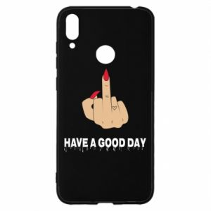 Etui na Huawei Y7 2019 Have a good day