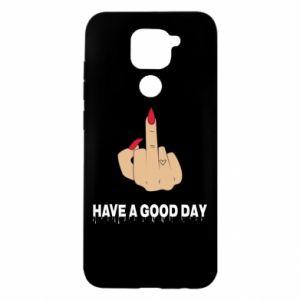 Etui na Xiaomi Redmi Note 9/Redmi 10X Have a good day