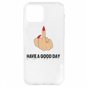 Etui na iPhone 12/12 Pro Have a good day