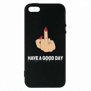 Etui na iPhone 5/5S/SE Have a good day