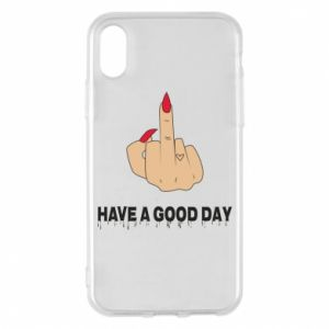 Etui na iPhone X/Xs Have a good day