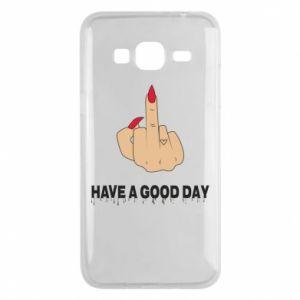 Etui na Samsung J3 2016 Have a good day