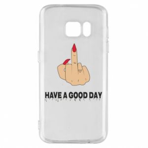 Etui na Samsung S7 Have a good day