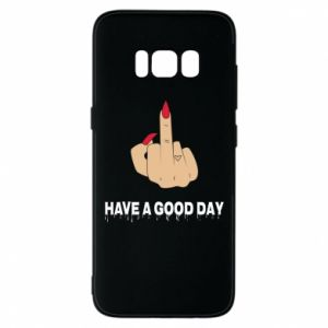 Etui na Samsung S8 Have a good day
