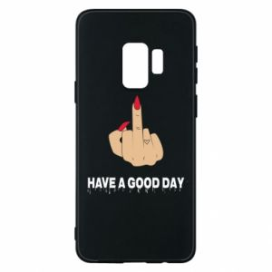 Etui na Samsung S9 Have a good day