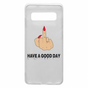 Etui na Samsung S10 Have a good day