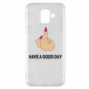 Etui na Samsung A6 2018 Have a good day