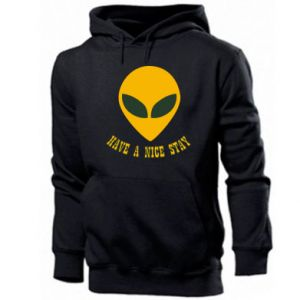 Men's hoodie Have a nice stay