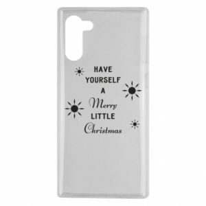 Samsung Note 10 Case Have yourself a merry little Christmas