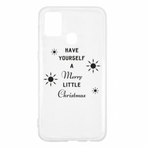 Samsung M31 Case Have yourself a merry little Christmas