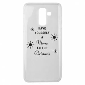 Samsung J8 2018 Case Have yourself a merry little Christmas