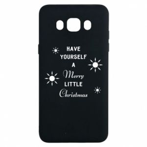 Samsung J7 2016 Case Have yourself a merry little Christmas