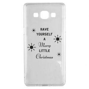 Samsung A5 2015 Case Have yourself a merry little Christmas