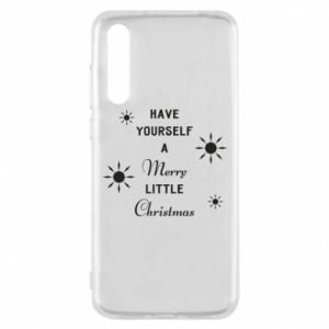 Huawei P20 Pro Case Have yourself a merry little Christmas