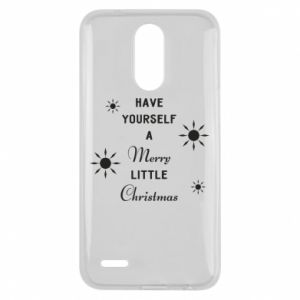 Lg K10 2017 Case Have yourself a merry little Christmas