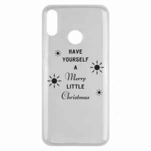 Huawei Y9 2019 Case Have yourself a merry little Christmas
