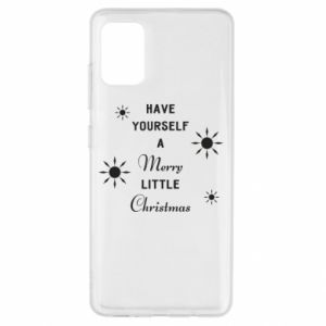Etui na Samsung A51 Have yourself a merry little Christmas