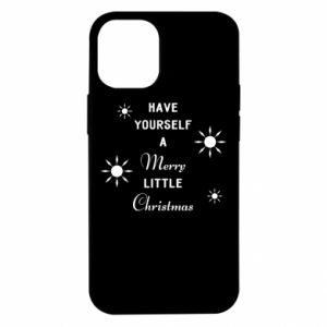 Etui na iPhone 12 Mini Have yourself a merry little Christmas
