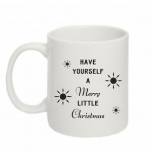 Mug 330ml Have yourself a merry little Christmas