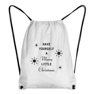 Backpack-bag Have yourself a merry little Christmas