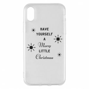 iPhone X/Xs Case Have yourself a merry little Christmas