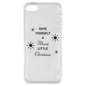 iPhone 5/5S/SE Case Have yourself a merry little Christmas