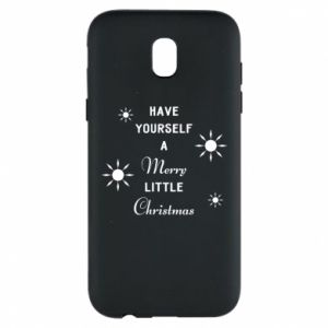 Samsung J5 2017 Case Have yourself a merry little Christmas