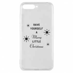 Huawei Y6 2018 Case Have yourself a merry little Christmas