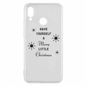 Huawei P20 Lite Case Have yourself a merry little Christmas