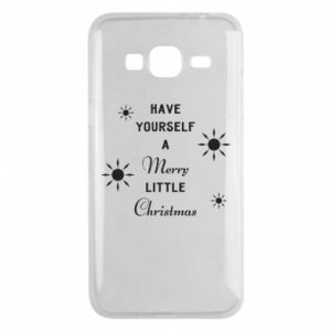 Samsung J3 2016 Case Have yourself a merry little Christmas