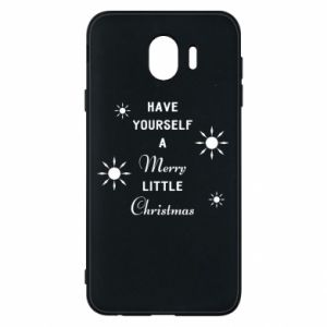 Samsung J4 Case Have yourself a merry little Christmas