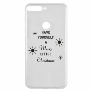 Huawei Y7 Prime 2018 Case Have yourself a merry little Christmas