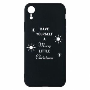 iPhone XR Case Have yourself a merry little Christmas