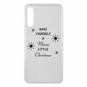 Samsung A7 2018 Case Have yourself a merry little Christmas