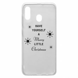 Samsung A30 Case Have yourself a merry little Christmas